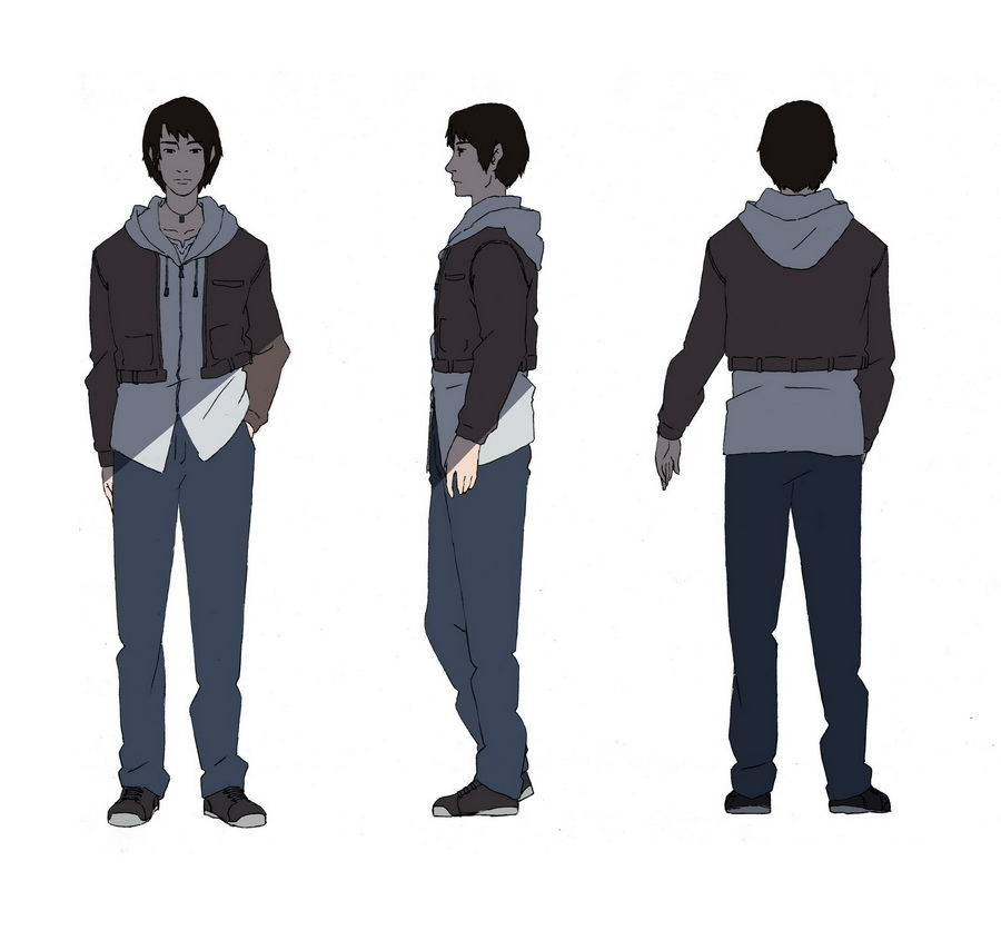 Character Design Style 1 Male By Wolfsmoke