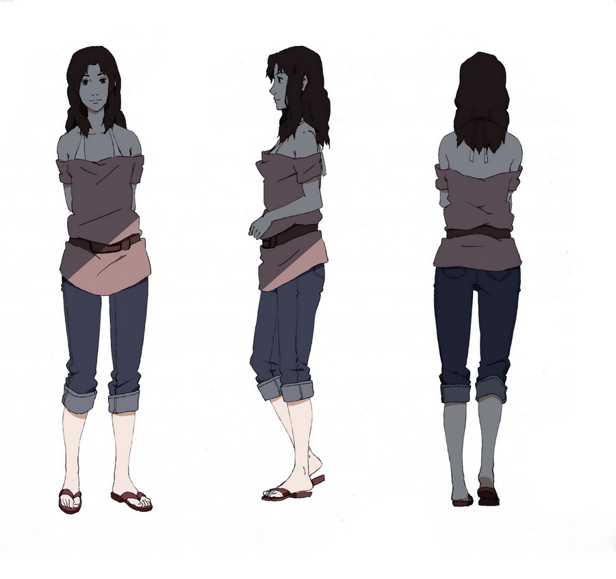Anime Female Character Design : Character design style female by wolfsmoke on deviantart