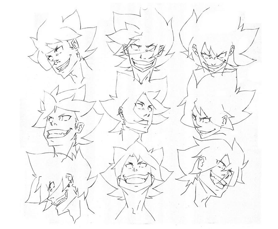 Character Design Style 2 Malez 1 By Wolfsmoke