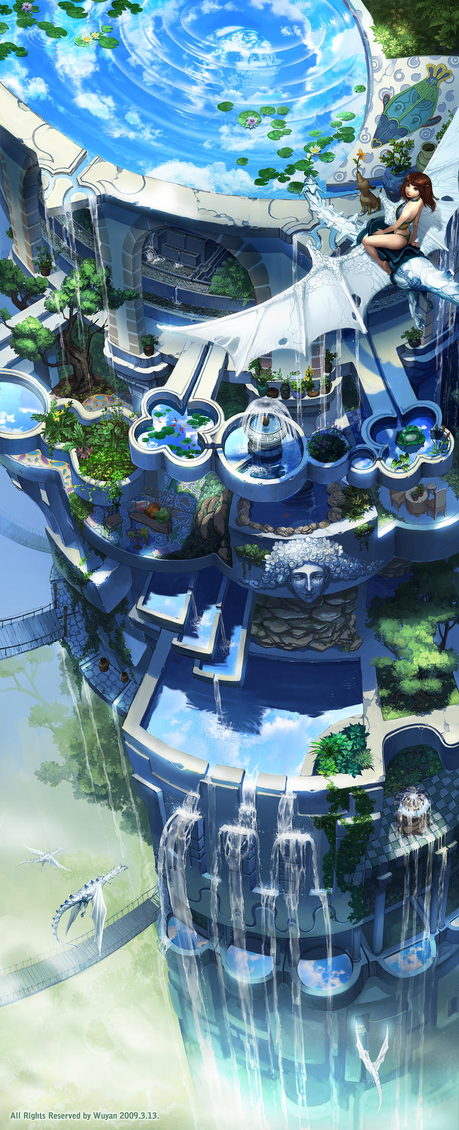 Simple Air Garden Parallel World By Wolfsmoke And Decorating Ideas