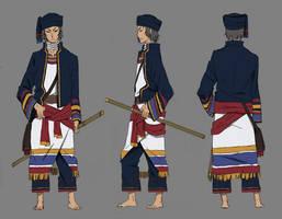 Pre-design of new film Wu Yin - Yin Tianshui