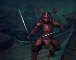 Scorpion Clan Samurai by auspiciouspanda