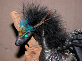 Majestic peacock crested 2 by MammaLion