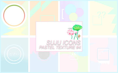 / Pack pastel textures by sujuicons