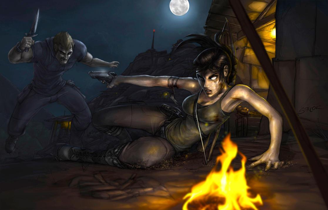 Lara's Shot by SalcorID