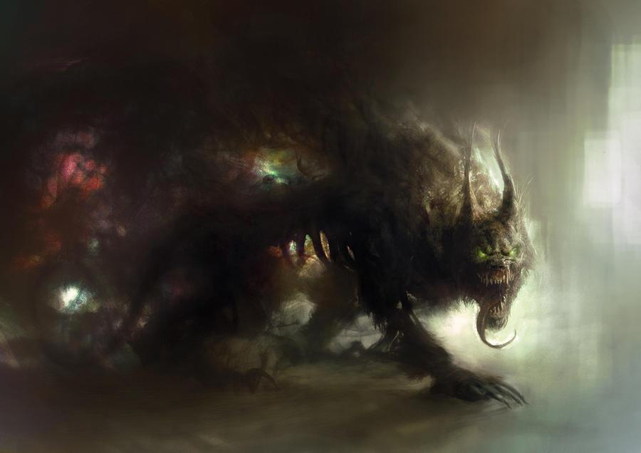 Hound of Tindalos 2 by Manzanedo