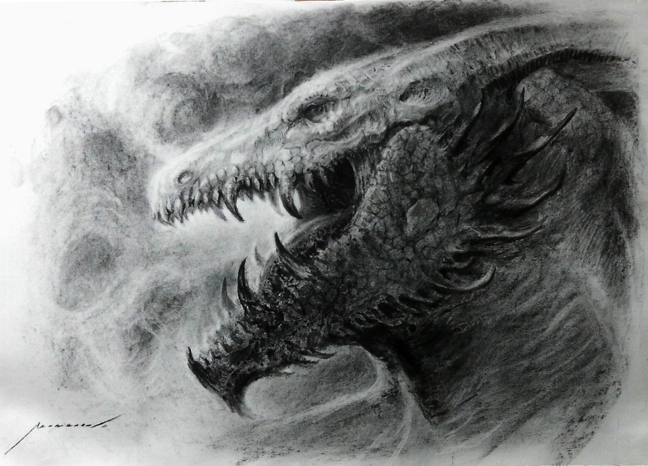 Charcoal Dragon Head
