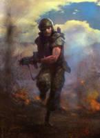 Infantry by Manzanedo