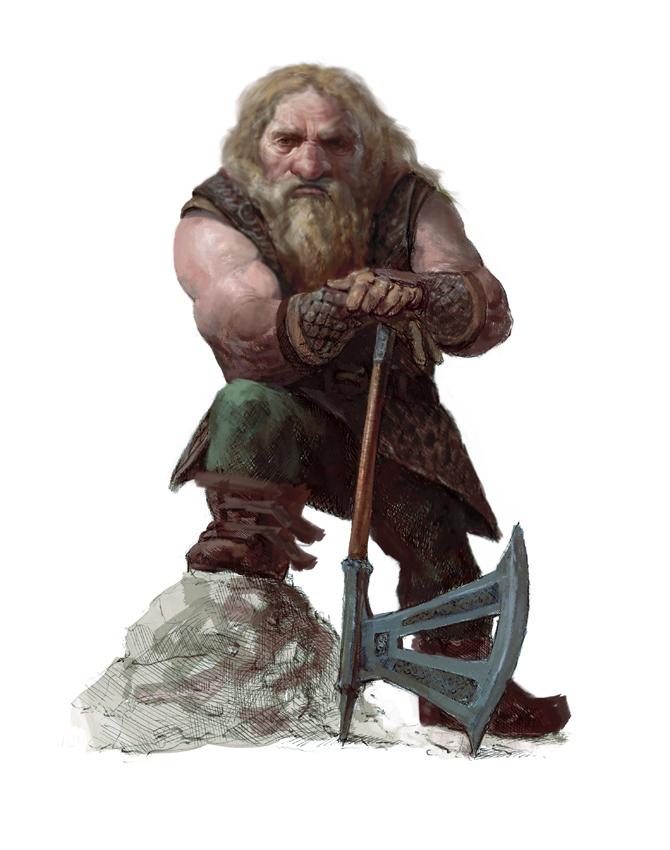 The dwarf by Manzanedo