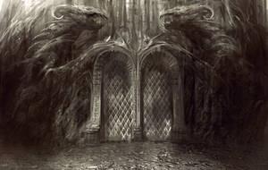 Dragon Gate by Manzanedo