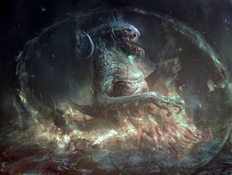 Infernal beast by Manzanedo
