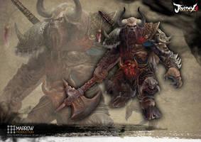 Bull Demon King by Manzanedo