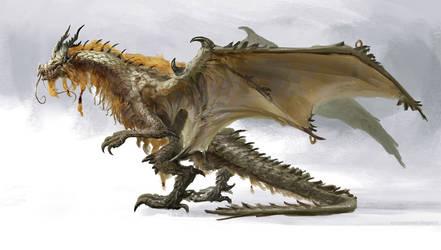 Dragon Qinglong. by Manzanedo