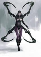 Spider Warrior by Manzanedo