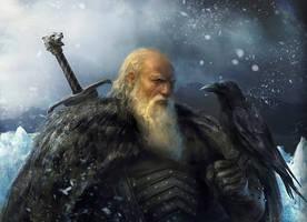 Jeor Mormont by Manzanedo