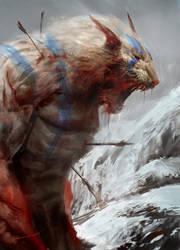 Roar of death by Manzanedo