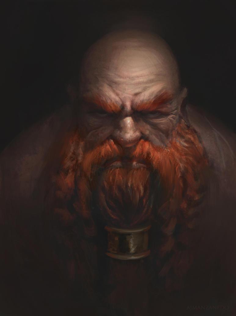Dwarf by Manzanedo on DeviantArt |Dwarf Male Portrait
