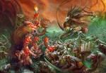 Clan Pestilens vs Fyreslayers