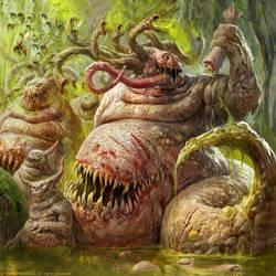 Beasts of Nurgle by Manzanedo