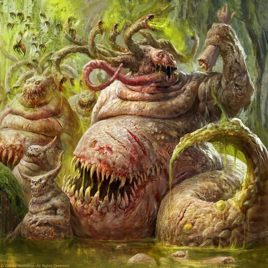 Beasts of Nurgle