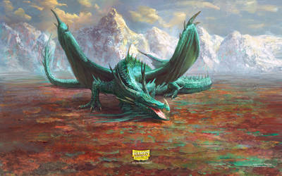 Mint Dragon by Manzanedo