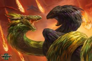 Dragons by Manzanedo