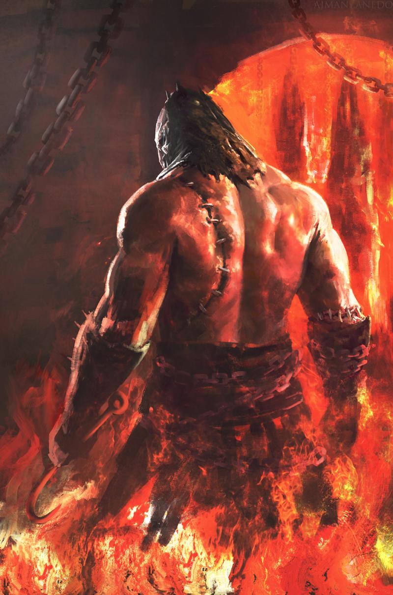 Infernal Executioner II by Manzanedo