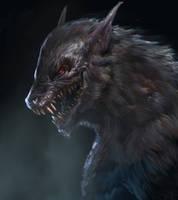 Lycanthrope II by Manzanedo
