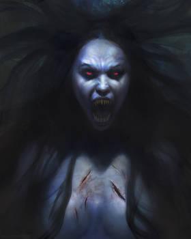Vampiress by Manzanedo