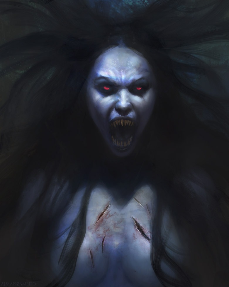 Vampiress by Manzanedo