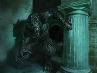Werewolf by Manzanedo