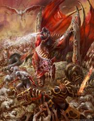 Abhorrant Ghoul King on Terrorgheist