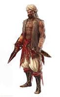 Bloody Right Hand by Manzanedo