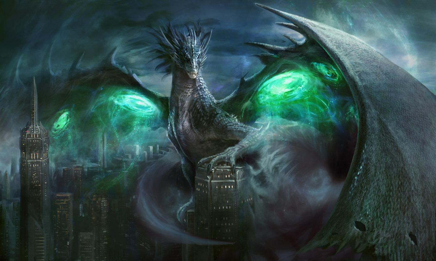 Mythgard - Sablewing Zira by Manzanedo