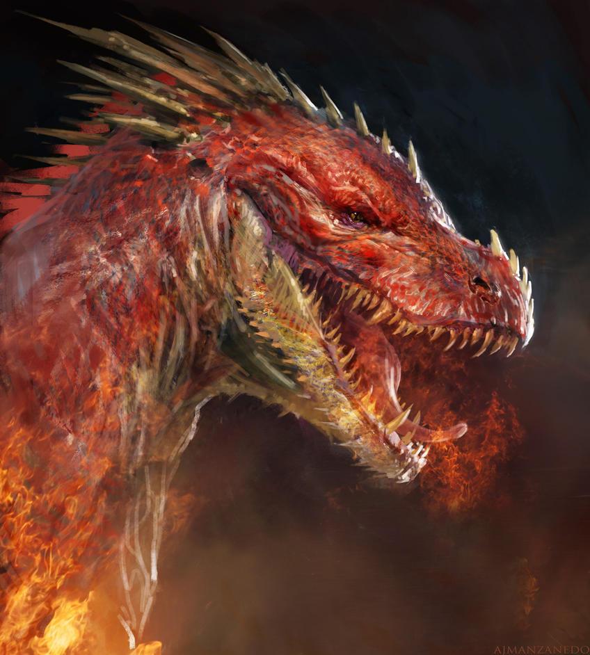 Red dragon by Antonio José Manzanedo : ImaginaryDragons