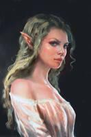 Elf girl by Manzanedo