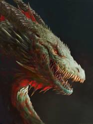 Dragon by Manzanedo