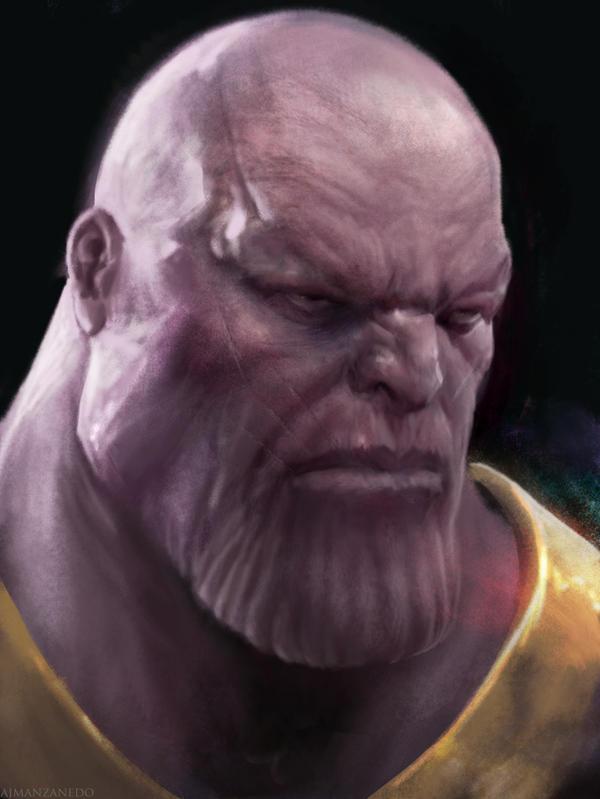 Thanos by Manzanedo