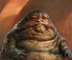 Jabba the Hutt by Manzanedo