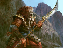 Kitsu Warrior by Manzanedo