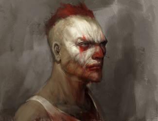 Insane clown by Manzanedo