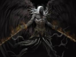 Fallen Angel by Manzanedo