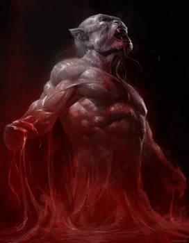 Ancestor Vampire by Manzanedo