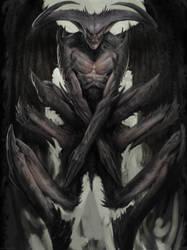 Ancient Vampire by Manzanedo