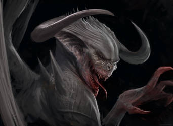 Ancient Vampire by Manzanedo
