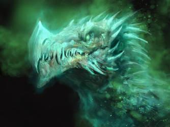 Ghost Dragon by Manzanedo