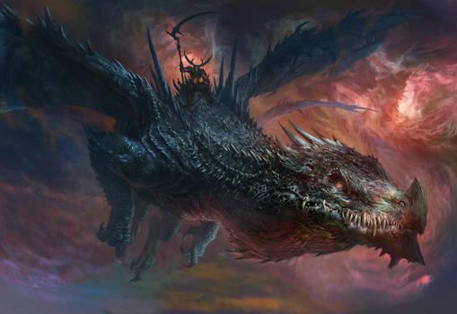 Demon Dragon Rider