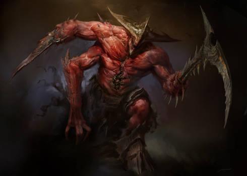 Infernal beast