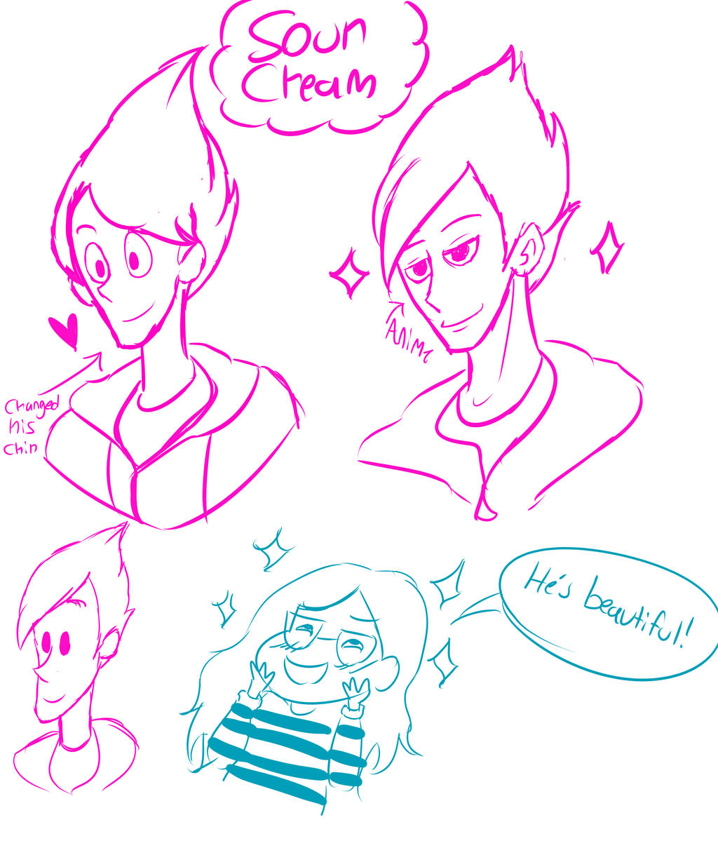 Steven Universe] sour cream sketches by bells123 on DeviantArt