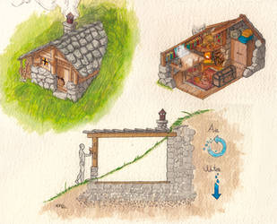 Hidden shelter (how to...) by MuraART